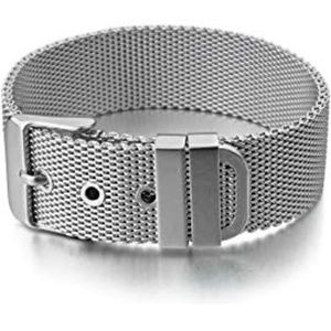 Women's Stainless Steel Bangle Bracelet - Silver